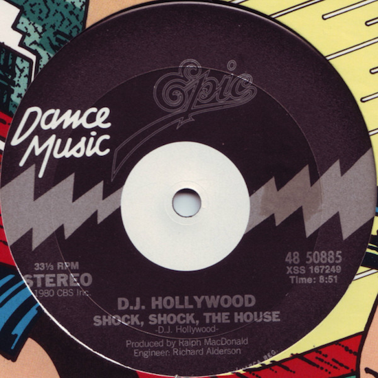 D.J. Hollywood – Shock, Shock, The House (1980)